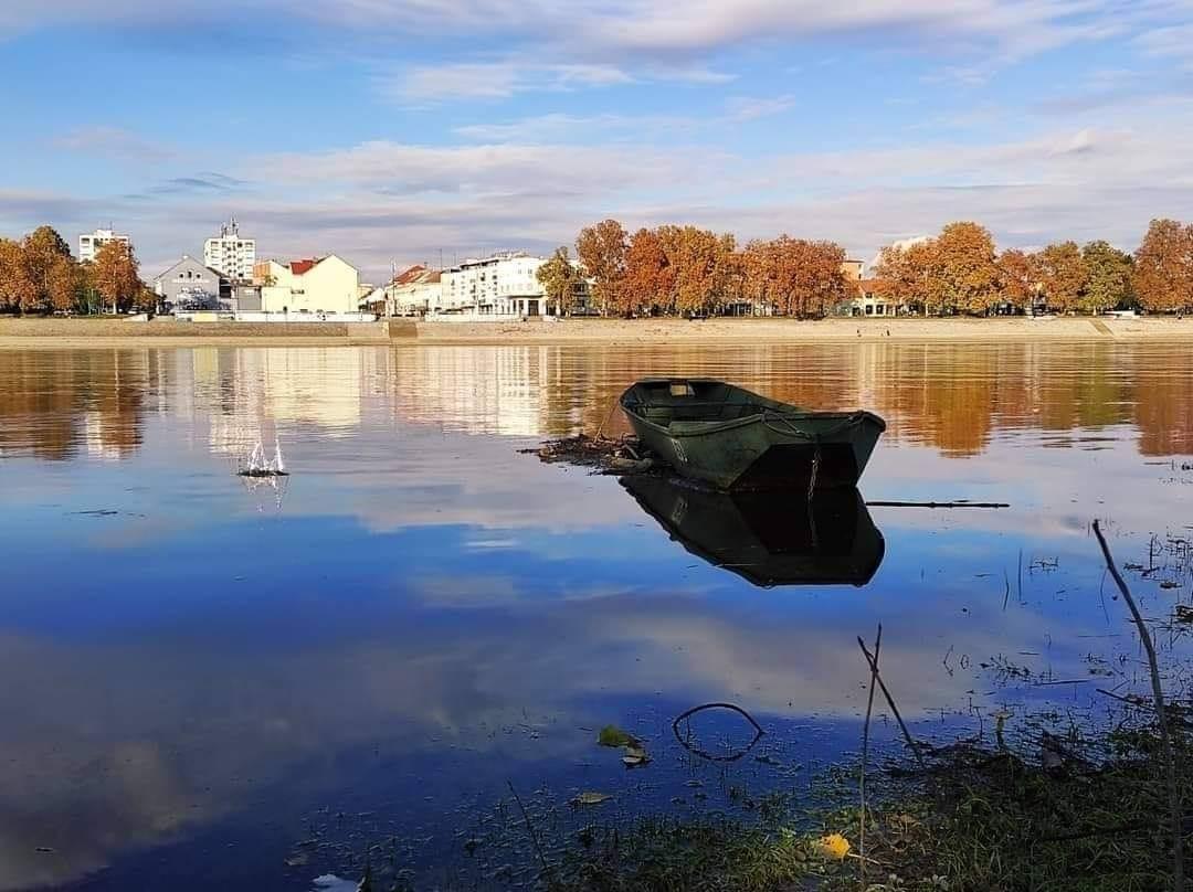 Čišćenje obale rijeke Save